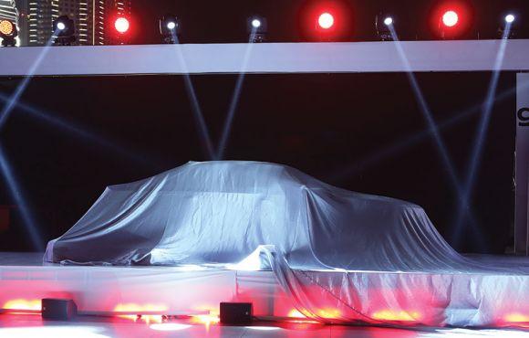Launch of Audi A8i in Dubai