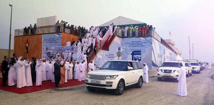 Launch of VLCC Berth – Port of Fujairah