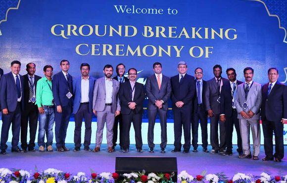Groundbreaking Ceremony JSW Cement